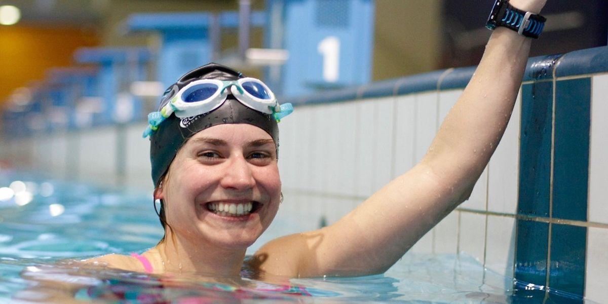 Paule Kremer trainiert täglich bis zu drei Stunden im Becken. Mit Laufeinheiten versucht sie zudem, ihre Kondition zu verbessern.