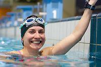Paule Kremer bereitet sich als erste Luxemburgerin auf Kanalschwimmen vor. / Foto: Inna GANSCHOW