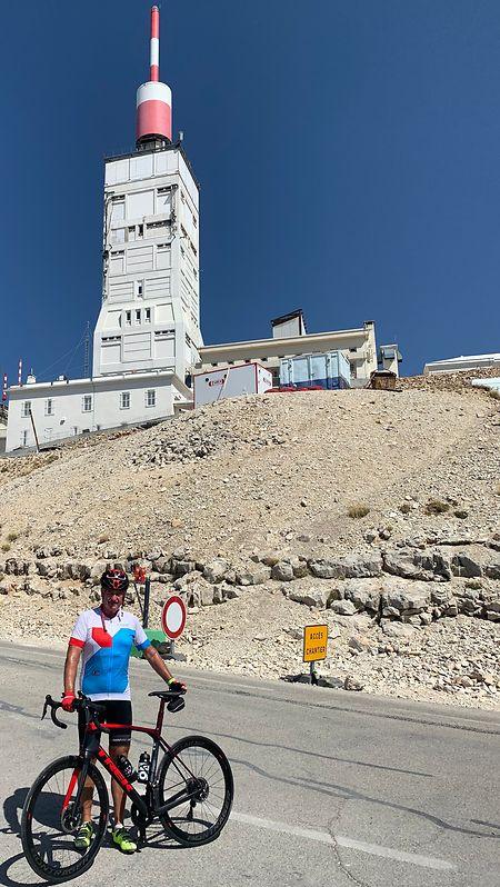 Keine Ferien ohne den Mont Ventoux: Am Dienstag bezwang Außenminister Jean Asselborn den berühmten Berg in der Provence.