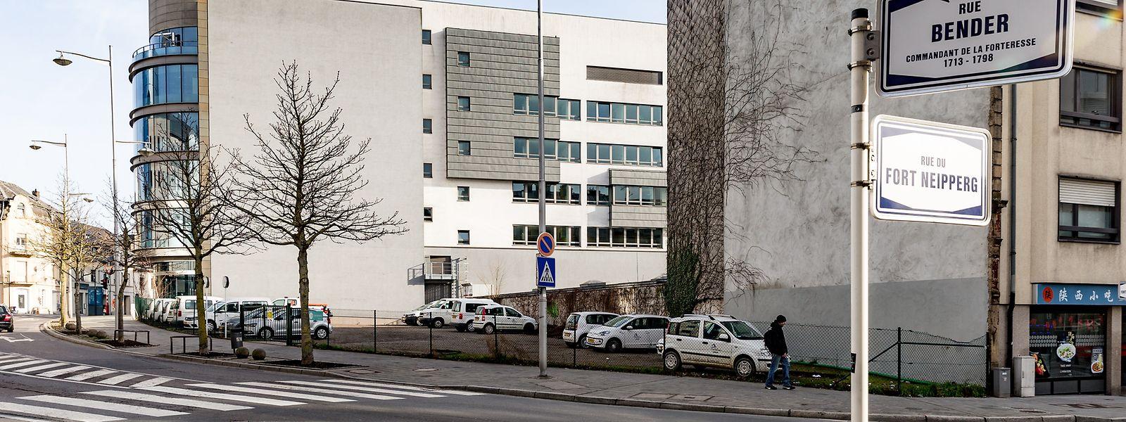 Das Grundstück an der Rue Bender/Rue du Fort Neipperg gehört seit Oktober 2017 wieder der Stadt Luxemburg.