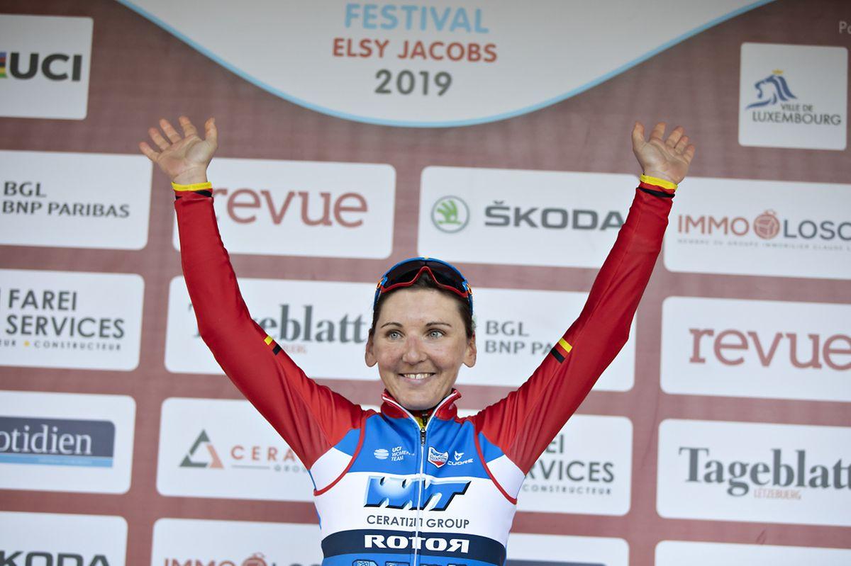 Lisa Brennauer a inscrit son nom au palmarès de l'édition 2019 du Festival Elsy Jacobs.