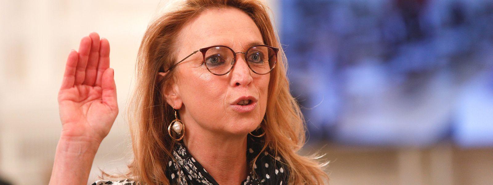 La députée Myriam Cecchetti (Déi Lénk) fait partie des dernières nouvelles figures arrivées en fonction. C'était en mai 2021.