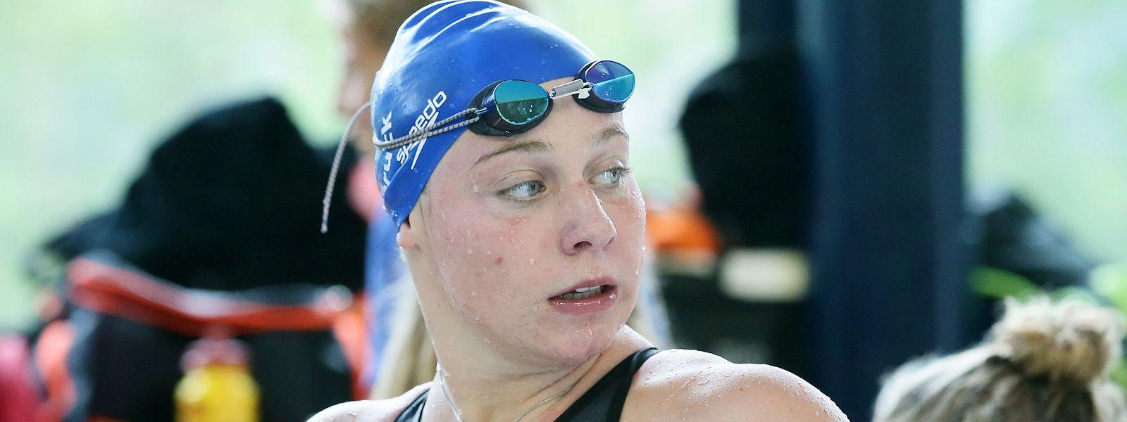 Julie Meynen blieb fast eine Sekunde über dem Rekord.