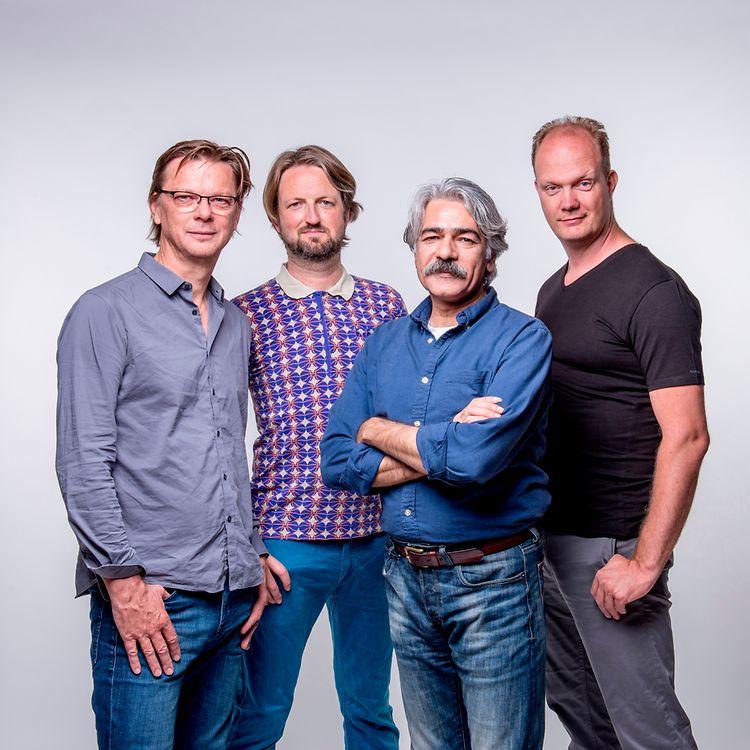 27 april 2017. Rembrandt frerichs Trio with Kayhan Kalhor. Photo: Allard Willemse