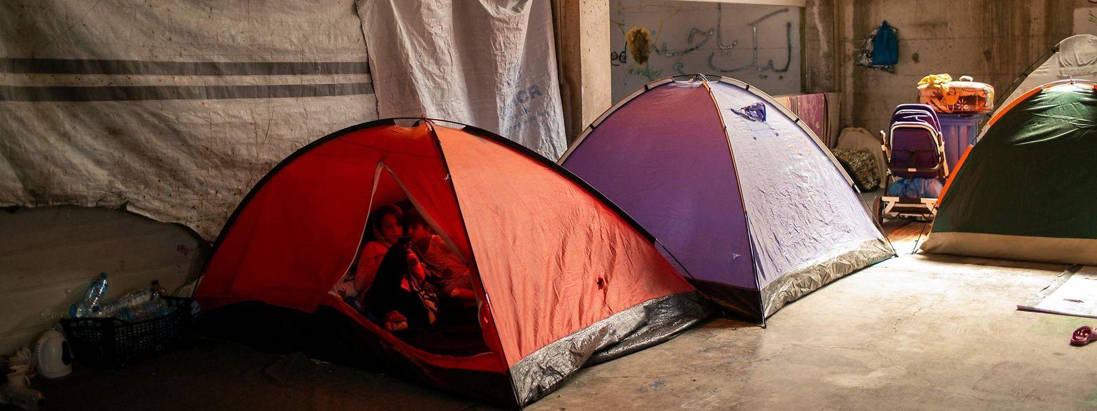 Nach dem Großbrand auf Lesbos sind über 12.000 Menschen obdachlos geworden.