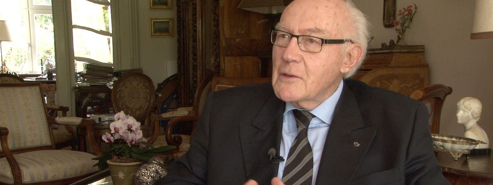 Der frühere Hofmarschall Guy De Muyser erinnert an die große Menschlichkeit von Großherzog Jean.