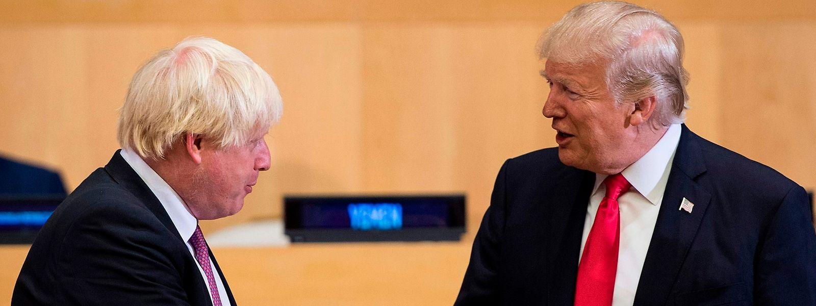 Johnson und Trump sollen sich auf dem G7 in Biarritz erneut treffen.