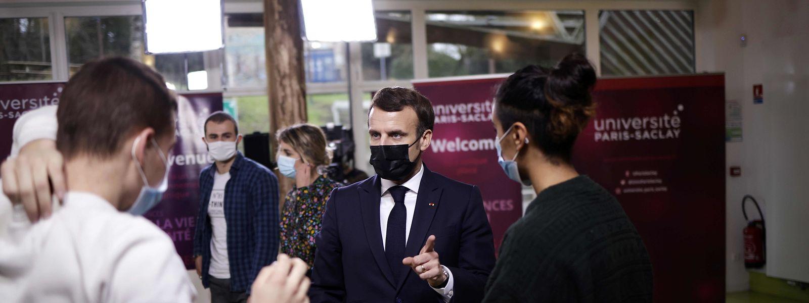 Der französische Präsident Emmanuel Macron möchte Kinder, die Opfer sexueller Gewalt wurden, besser schützen.