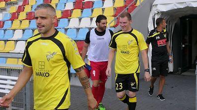 Face à Differdange, Mario Mutsch (au premier plan) n'a pu jouer que 30 minutes contre Differdange.
