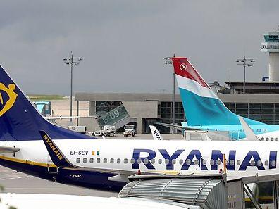 Ryanair macht der alteingesessenen Luxair zunehmend Konkurrenz - demnächst auf der Linie Luxemburg-Mailand.
