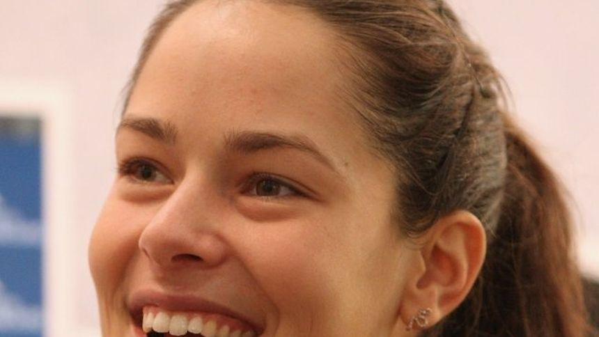 Ana Ivanovic tout sourire: la Serbe se sent comme un poisson dans l'eau à Luxembourg