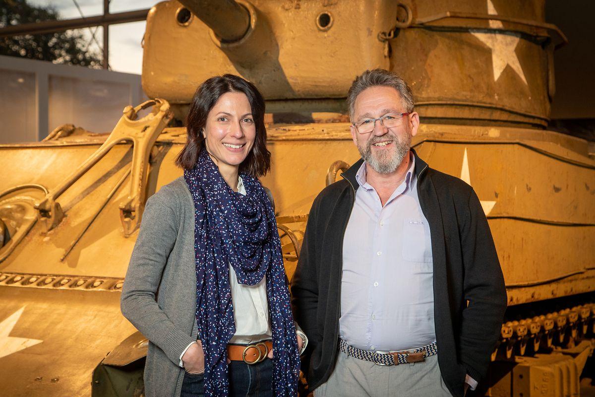 Den Kuratoren Jean Reitz und Nadine Geisler war beim Ausarbeiten der Ausstellung daran gelegen, das Kriegsgeschehen, 75 Jahre nach der Befreiung, zusammenzufassen, ohne sich in Details zu verlieren.
