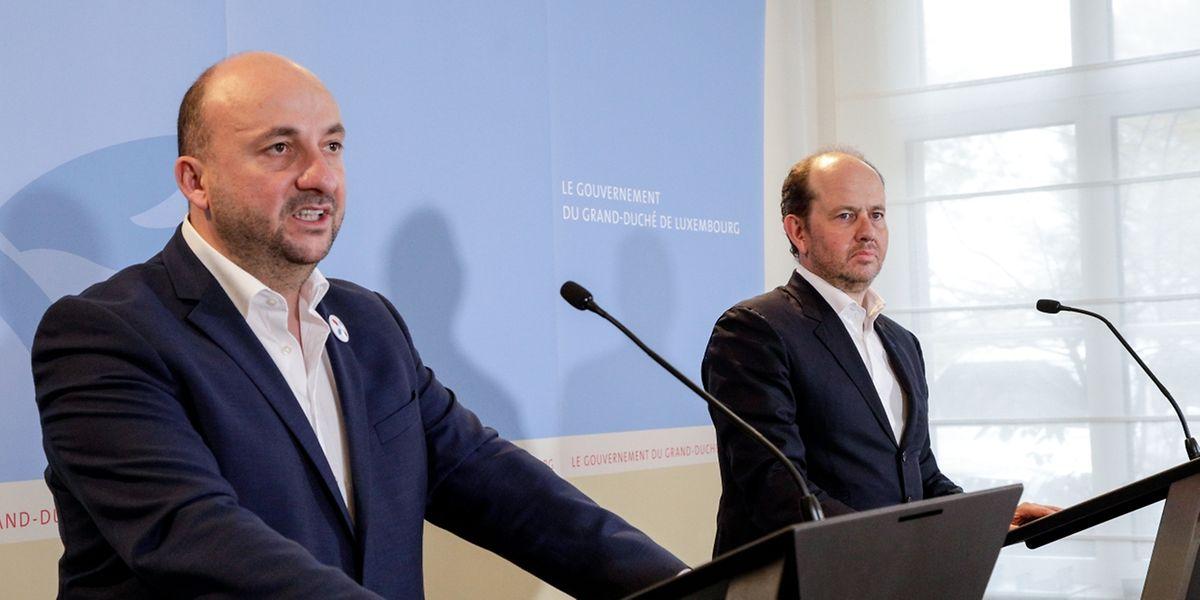 Etienne Schneider et Jean-Louis Schiltz ont présenté un projet de loi qui devrait devenir une loi en début d'année prochaine