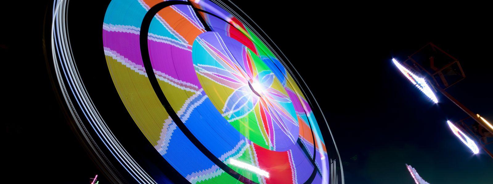 La roue a fini sa course mercredi 11 septembre au soir. Rendez-vous l'année prochaine!