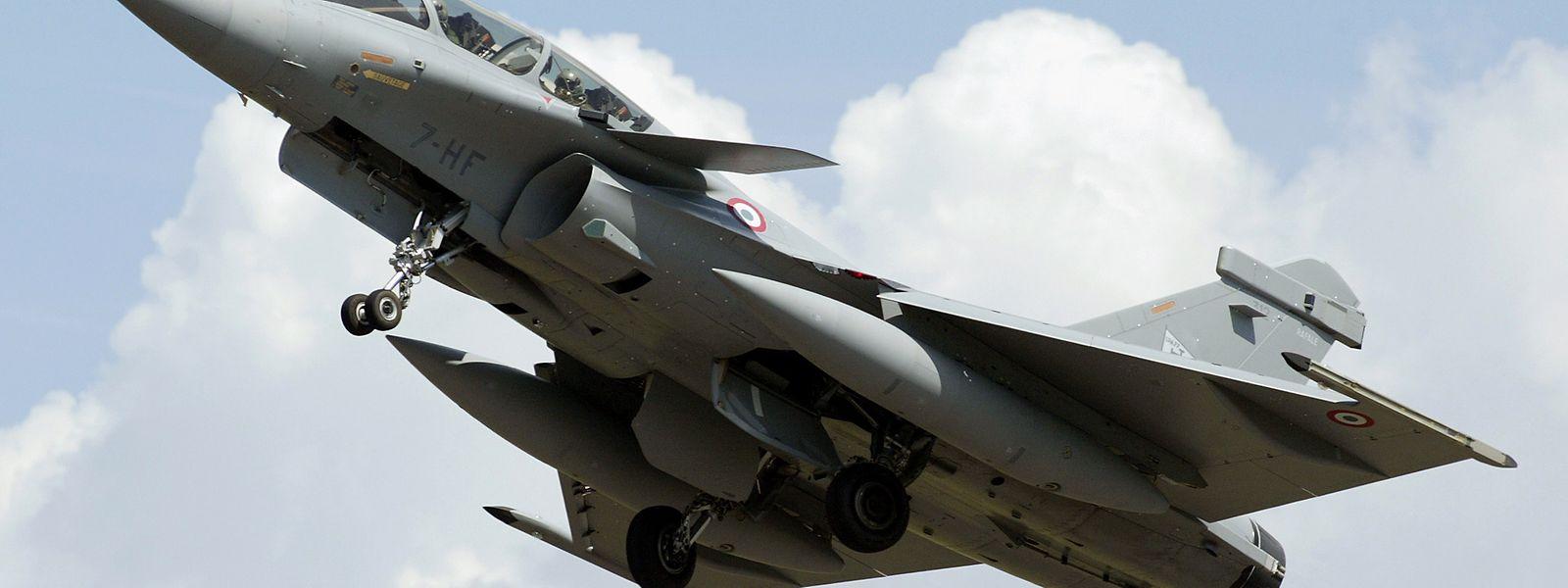 Ein Rafale-Jet der französischen Luftwaffe löste am Mittwoch Schreckmomente aus.