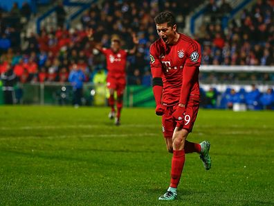 Robert Lewandowski erzielte den ersten und den letztem Treffer der Partie.