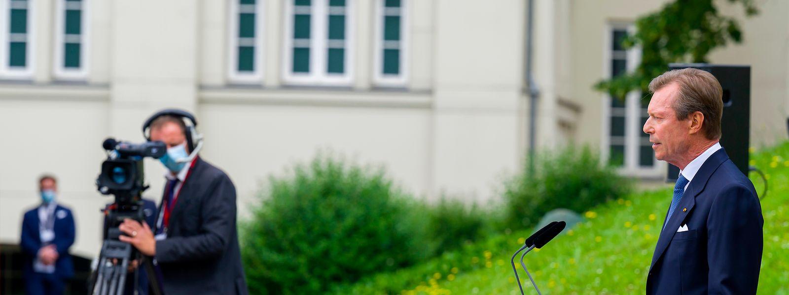 Le Grand-Duc a invité tout un chacun à «s'appuyer sur les faits et la vérité», ainsi que sur «la solidarité transfrontalière» qu'a engendrée le covid.