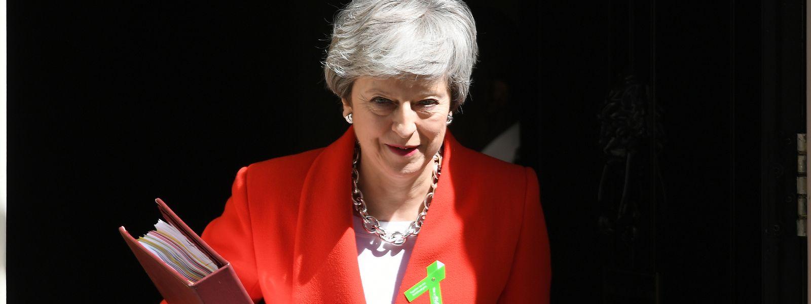 Theresa May, Premierministerin von Großbritannien, will im Juni eine vierte Abstimmung über ihren Brexit-Deal ins Unterhaus bringen.