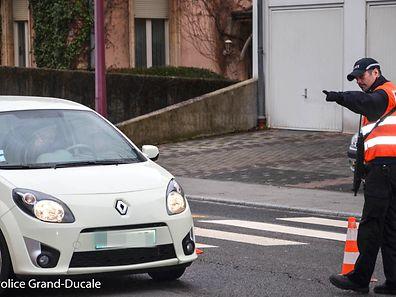 Insgesamt waren 20 Beamte an den Fahrzeugkontrollen rund um Esch/Alzette beteiligt.