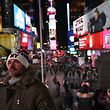 NEW YORK, NY - DECEMBER 11: People visit Times Square not far from the site of a pipe bomb explosion on December 11, 2017 in New York City. Police said that Akayed Ullah, 27, an immigrant from Bangladesh living in Brooklyn, set off the pipe bomb in an underground walkway. John Moore/Getty Images/AFP == FOR NEWSPAPERS, INTERNET, TELCOS & TELEVISION USE ONLY==