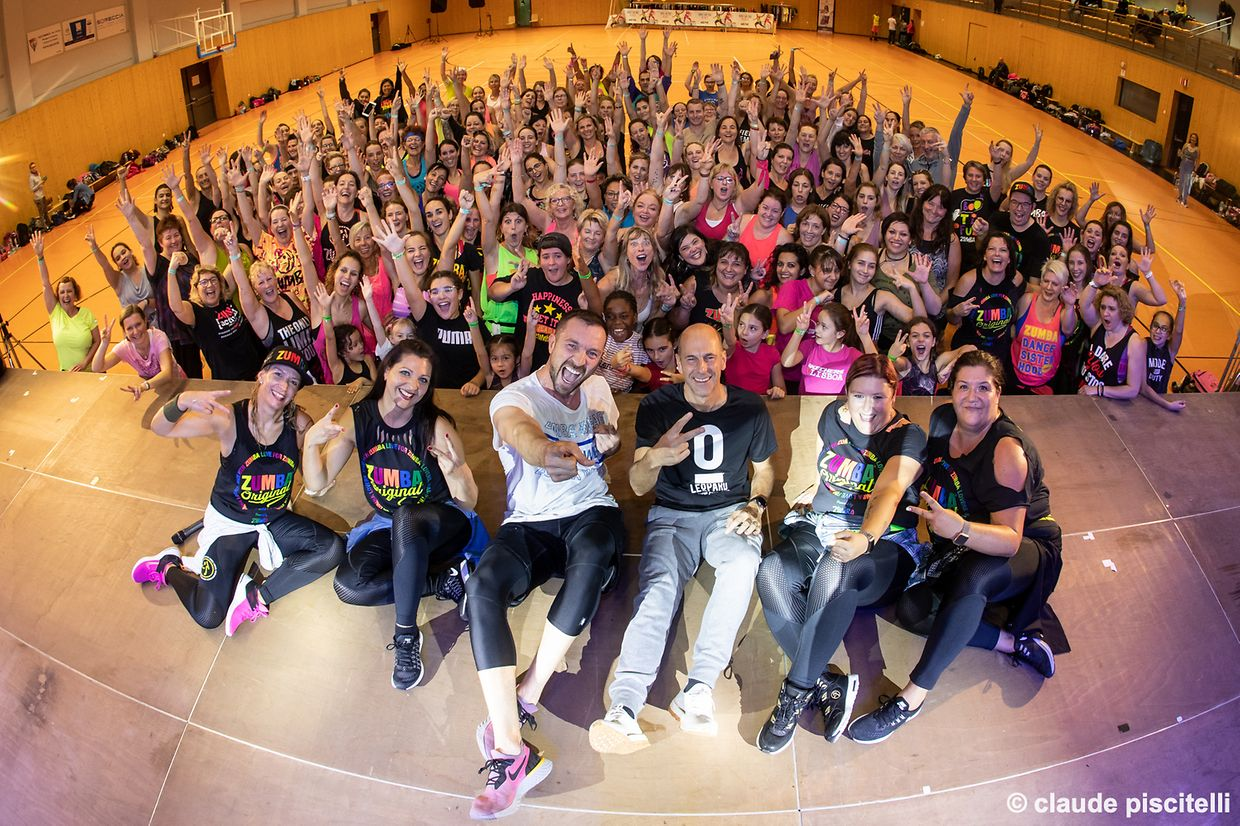 Zumbachicas ZChicas Luxembourg ‎Zumba® Master Class with Steve Boedt - Rodange -  - 12/10/2019 - photo: claude piscitelli