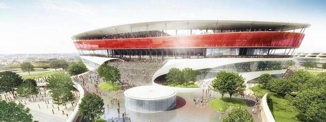 Le projet de stade national n'a pas quitté les cartons. La Belgique est toujours dans l'attente d'un stade national moderne.