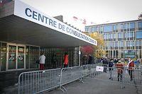 Neien Corona-Testcenter Kirchberg -  - Ouverture d'un nouveau centre de prélèvement pour test COVID-19 à Luxembourg-Kirchberg  - Foto : Pierre Matgé/Luxemburger Wort