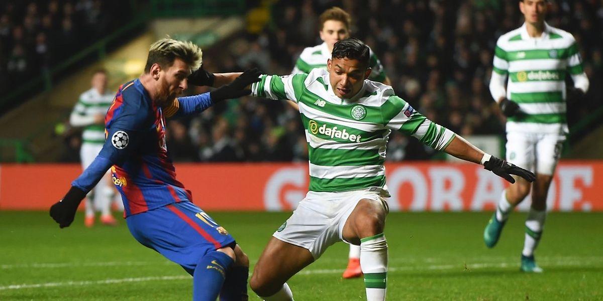 Lionel Messi et ses partenaires du Barça ont logiquement dominé le Celtic à Glasgow.