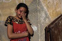 Jeune femme proche d'un Palestinien tué
