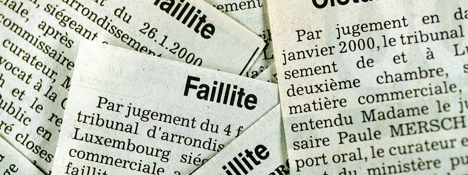 Entre faillites et liquidations, 234 entreprises ont disparu du paysage économique luxembourgeois en juin dernier.
