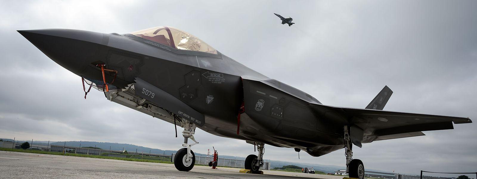 Les 17 premiers exemplaires de F-35 sont attendus en 2025.