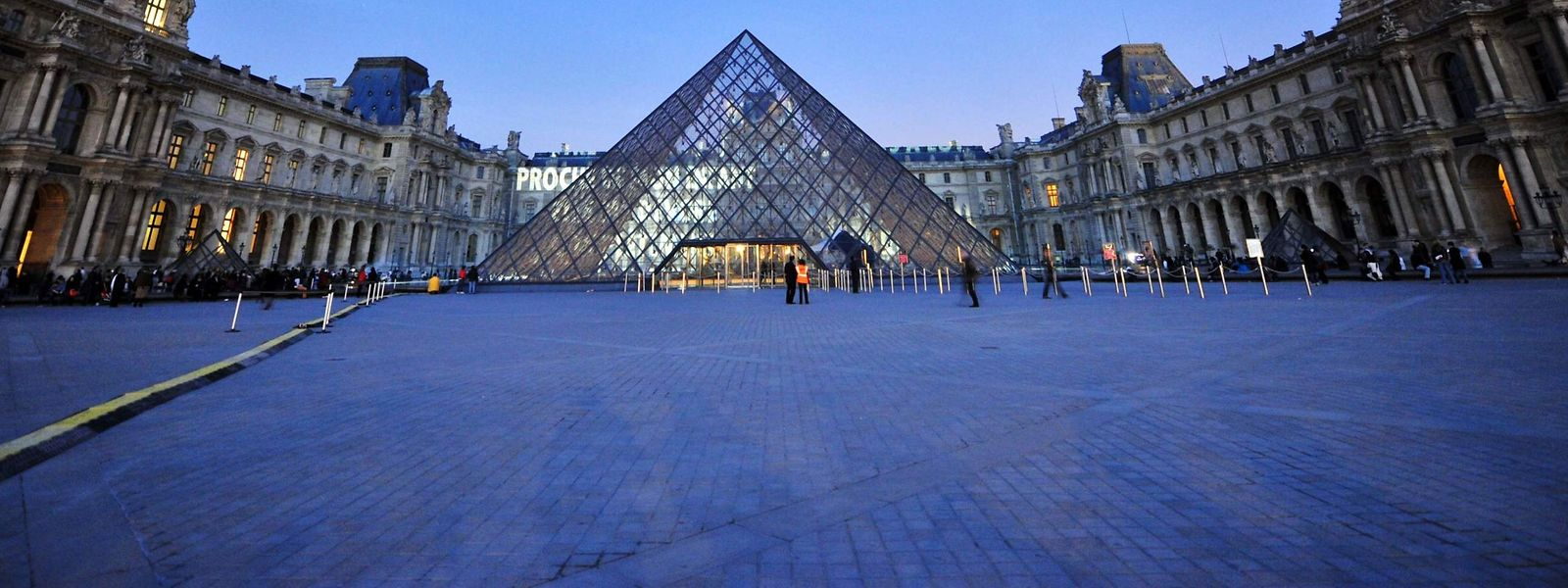 Die Pyramide für den Louvre in Paris ist das bekannteste Projekt von I. M. Pei.