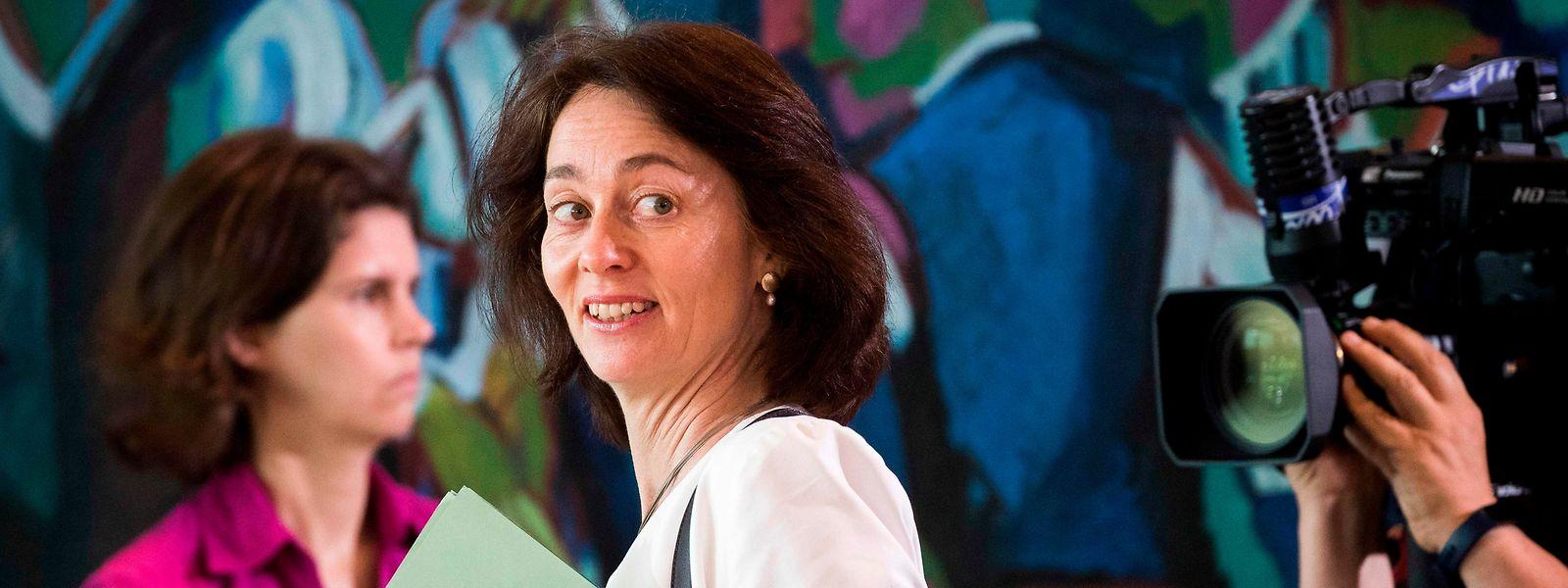 Die Vizepräsidentin des EU-Palaments Katarina Barley