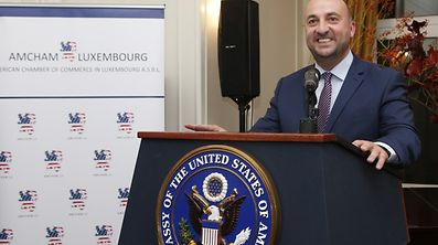 Soiree, AMCHAM, Etienne Schneider, American Chamber of commerce in Luxembourg, le 12 Octobre 2016. Photo: Chris Karaba