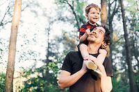 Vater Kind Familie Freizeit