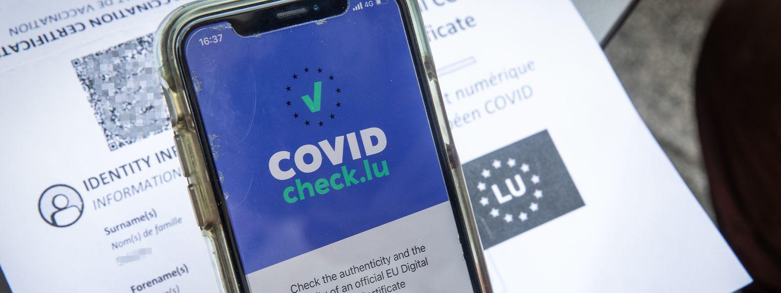 Der Covid-Check ist das Herzstück des neuen Covid-Gesetzes.