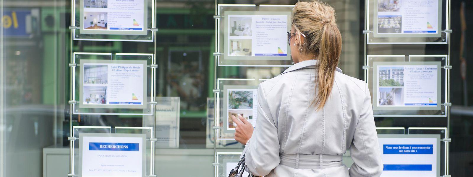 Eine explosionsartige Entwicklung: Der Preis pro Quadratmeter nimmt in Luxemburg stetig zu.