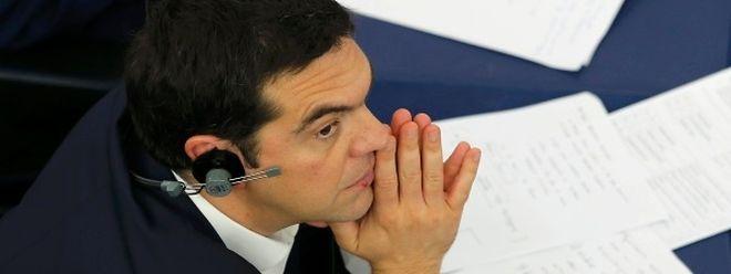 Alexis Tsipras está hoje no Parlamento Europeu