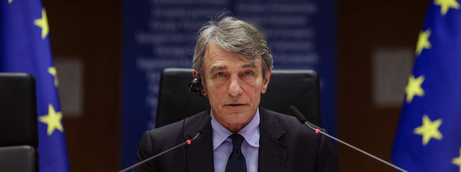 Presidente do Parlamento Europeu, David Sassoli