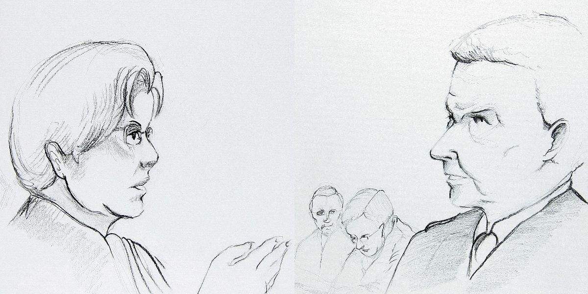 Charles Hamen war beim Anschlag in Kirchberg diensthabender Offizier im Kommandoposten. Vor der Kriminalkammer konnte er sich am Mittwoch nur schwach an die Attentatsserie erinnern.