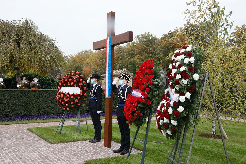 Die Gedenkfeier am Hinzerter Kreuz