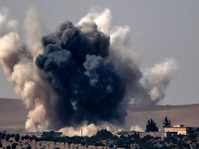 Explosion dans les faubourgs de Karkamis (à la frontière syro-turque) au sud de la région de Gaziantep.