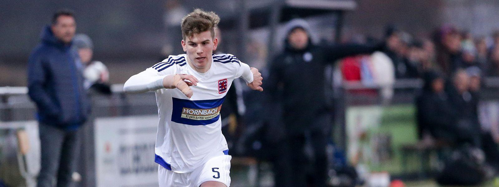 Florian Bohnert hofft beim FK Pirmasens auf einen Stammplatz.
