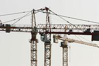 Baustelle, Baukran, Kran, Wirtschaft, Foto: Serge Waldbillig