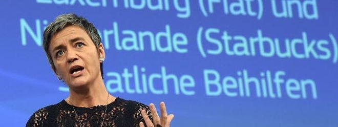Marghrete Vestager, commissaire européenne à la Concurrence, est appelée à témoigner au procès LuxLeaks.