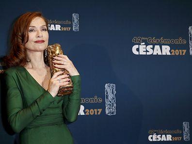 Isabelle Huppert a remporté le César de la meilleure actrice.
