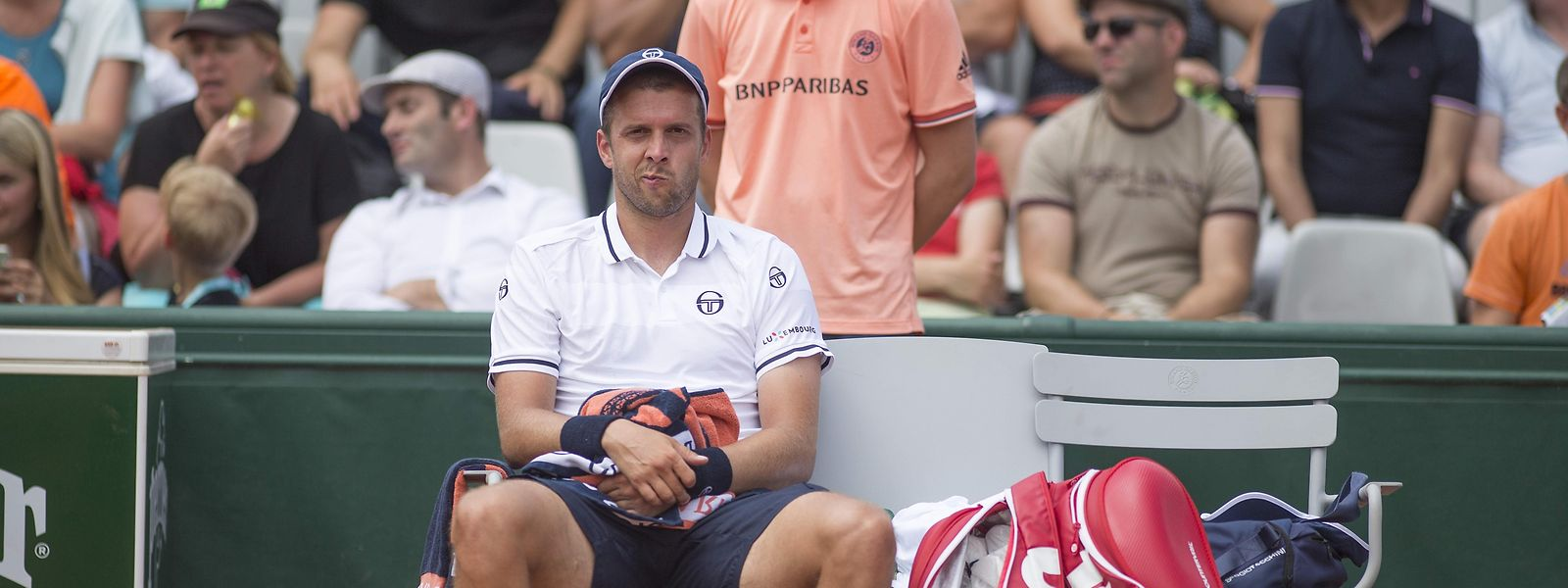 Gilles Muller liegen die French Open einfach nicht.