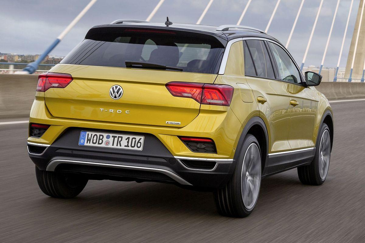 Für den T-Roc bietet VW zunächst drei Benziner und drei Diesel an.