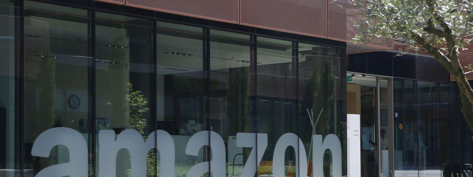 Die EU-Headquarters von Amazon in Clausen.
