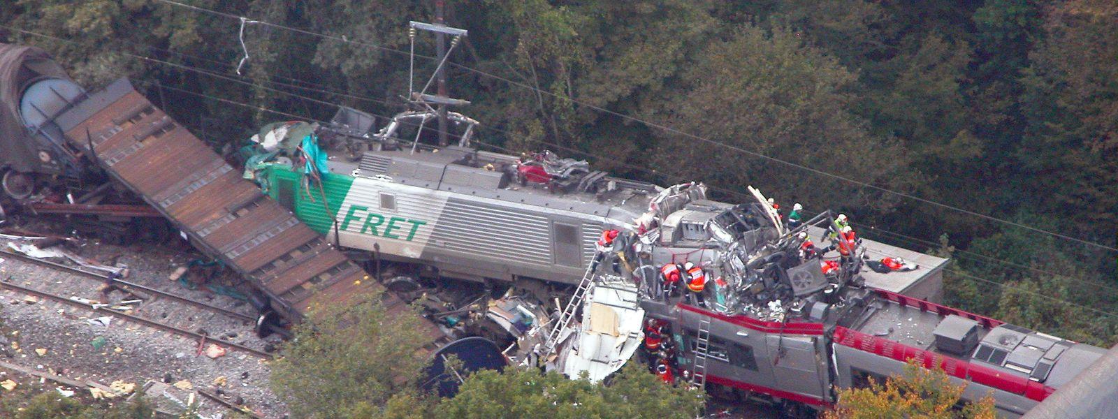 Imagem aérea do local do acidente de 2006.